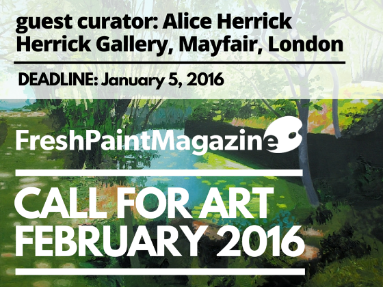 Call for artFebruary 2016