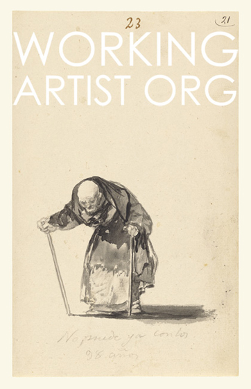 Francisco de Goya - He Can No Longer at the Age of Ninety-Eight
