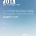 Joya: arte + ecologia / Artist in Residency program