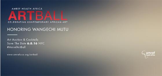 Amref Health Africa ArtBall
