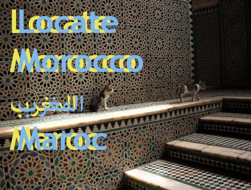 Locate Morocco