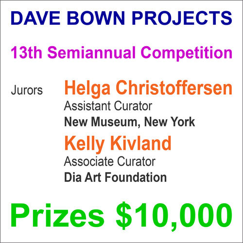 $10,000 in Cash Prizes - Dave Bown Projects - 13th Semiannual Competition