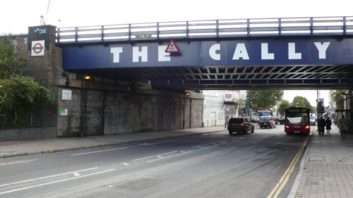 Caledonian Road rail bridge