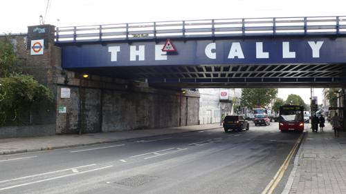 Caledonian Road rail bridge