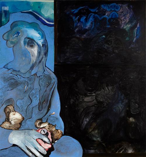 Maya Bloch, The Painter, 2014