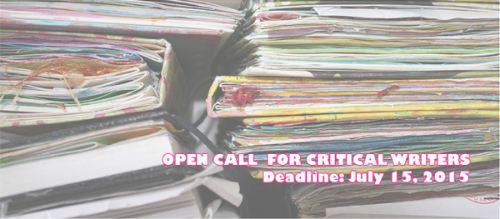 Open Call Critical Writers
