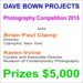 Dave Bown Projects - Photography Competition 2015 - $5,000 in Cash Prizes