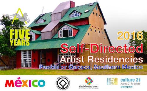 Arquetopia SELF-DIRECTED ARTIST RESIDENCIES 2016