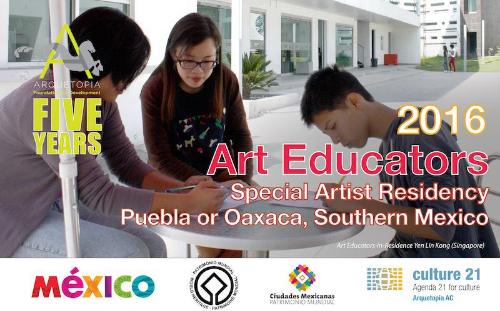 ART EDUCATORS SPECIAL ARTIST RESIDENCY 2016