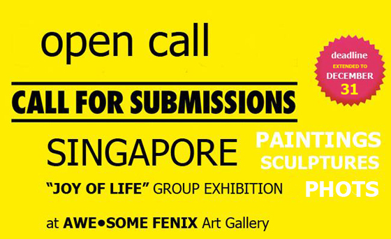 Group exhibition in SINGAPORE at AWE•SOME FENIX ART GALLERY - re