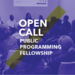 Open Call: 2016 Public Programming Fellowship