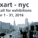OPEN CALL: apexart Unsolicited Exhibition Program 2017-18