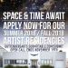 Guttenberg Arts Space & Time Artist Residencies Open Call