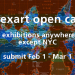 International Open Call for Exhibition Proposals 2019-20