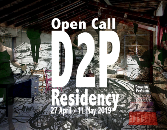 The Draw to Perform residency programme for Drawing Performance practice