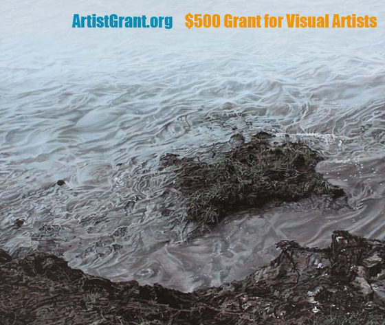 $500 USD Grant for Visual Artists
