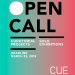 CUE - Solo Exhibition and Curatorial Project Open Call