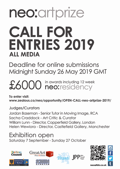 Call For Entries neo:artprize 2019 - re-title com artist
