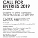 Call For Entries neo:artprize 2019