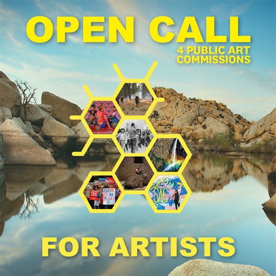 Public Art CA Open Call for Artists - Opportunity outreach
