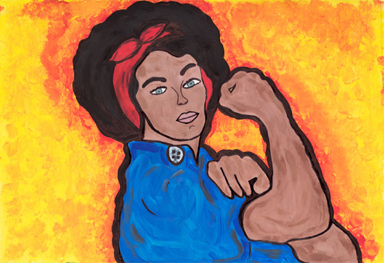 The New Rosie the Riveter by Elisa Uzcategui