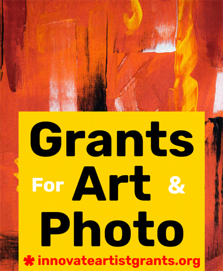 Call for Artists + Photographers – $550 00 Innovate Grants - re