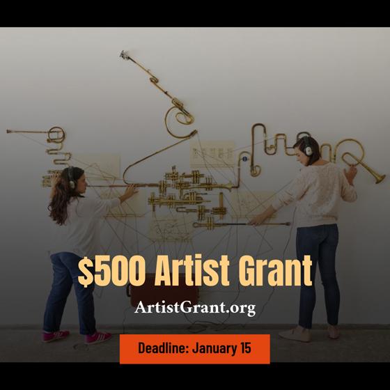 $500 Artist Grant