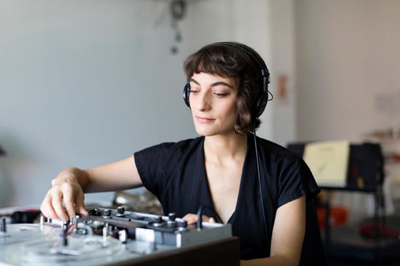 Lea Bertucci, Photo by Colin Conces
