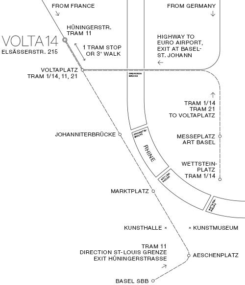VOLTA 14 2018 at COOP distribution center at Elsässerstrasse 215