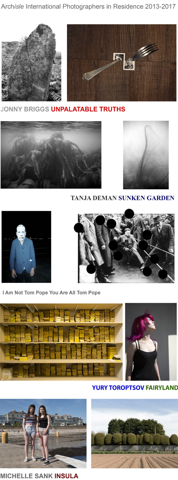Archisle International Photographers in Residence 2013-2017