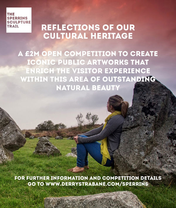 The SPERRINS SCULPTURE TRAIL OPEN COMPETITION