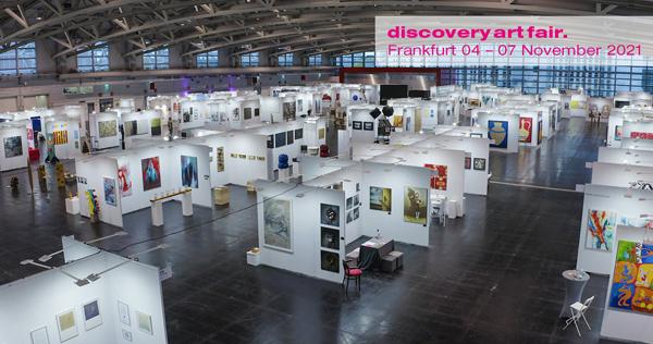 Discovery Art Fair Frankfurt 2021