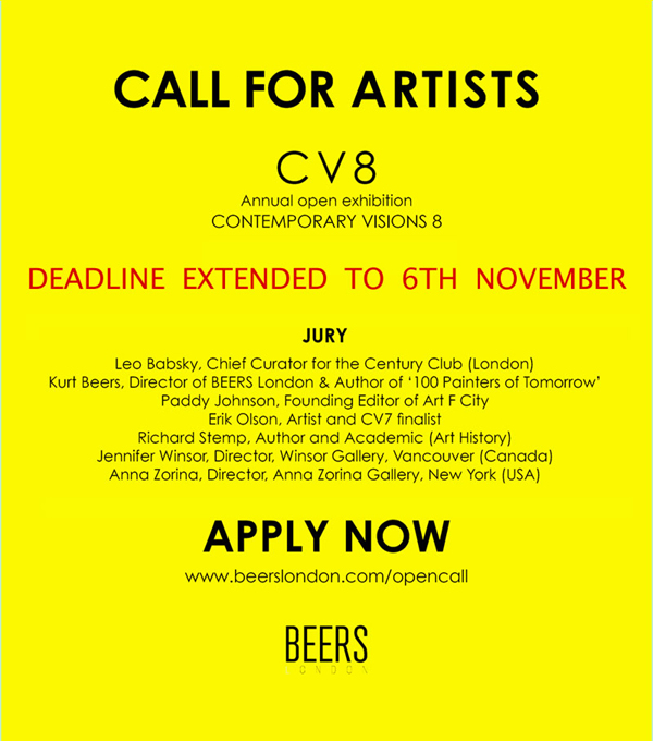 CV8 CALL FOR ARTISTS